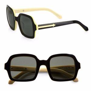 Like New Karen Walker Cabbie Square Sunglasses